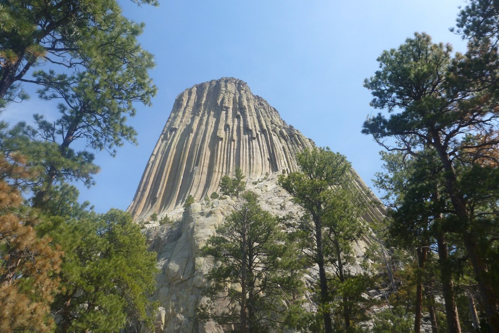 Devils Tower from the tourist path